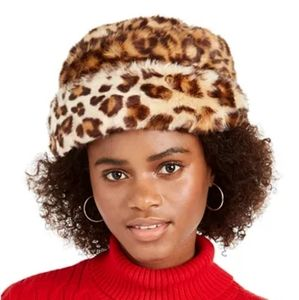 Nine West Faux Fur Cuff Cloche
